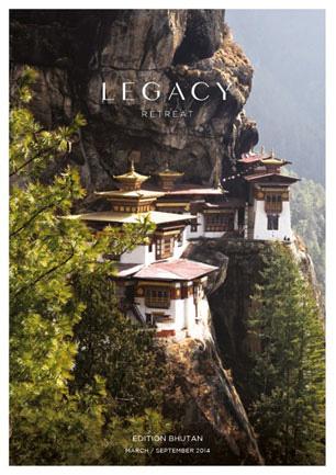 LEGACY BHUTAN 24 - 29 MARCH 2014